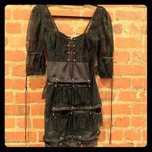 For Love and Lemons lace Mini Dress.